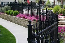Decorative Metal Fence Panels Icmt Set Decorative Fencing For Front Yard