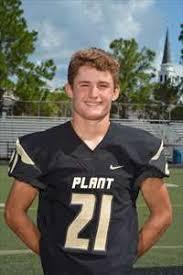 Aaron King High School Football Stats Plant (Tampa, FL) | MaxPreps