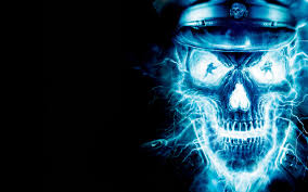 blue ghost rider the ghost rider