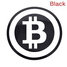 Large Bitcoin Cryptocurrency Blockchain Freedom Sticker Vinyl Car Window Decal Wish