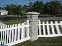 Faux Stone Columns Make Good Fences Creative Columns