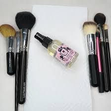 spot clean makeup brushes