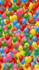 sea of colorful balloon hd wallpaper