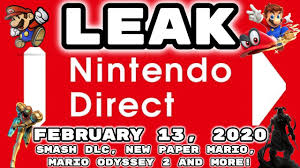 LEAKED Nintendo Direct February 13 ...