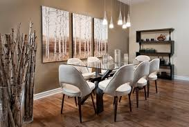 impressive dining room wall decor with
