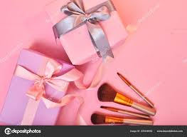gift ideas makeup brushes pink gift