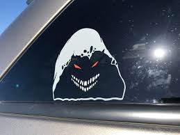 I Ordered A Custom Sticker Actually Made This Out Of Three To Put On My Car Window Disturbed