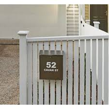 On Wall Fence Mailboxes Letterboxes Direct Mailmaster Letterboxes