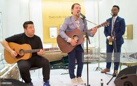Peter Ha, Miguel Cervantes and J.J. Jeter perform at the David Yurman...  News Photo - Getty Images