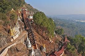 site des grottes de pindaya, Birmanie, panorama, pindaya, Myanmar, point de  vue, paysage, Voyage, vue, architecture, stupas | Pikist