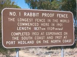 The Rabbit Proof Fence Of Australia Amusing Planet