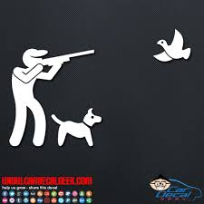 Bird Hunting Car Vinyl Decal Window Sticker Hunting Decals