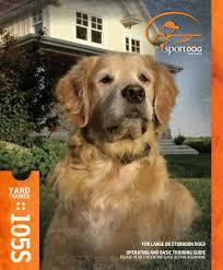 Product Manual Sportdog