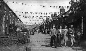 Long Row During Queen's Coronations, Belper, 1953