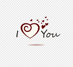 I Love You Illustration Wall Decal Sticker Poster Love I Love You Love English Pendant Png Pngwing