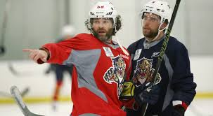 Panthers' Aaron Ekblad practises for first time since neck injury ...
