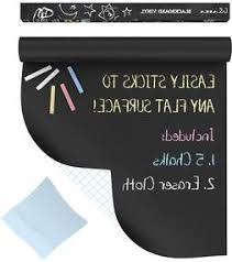 Kassa Chalkboard Wall Sticker Roll 5 Chalk