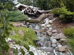 garden waterfall â how to make it