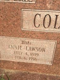 Annie Ada Lawson Coleman (1889-1958) - Find A Grave Memorial