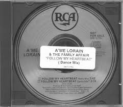 CD Single - A'me Lorain - Follow My Heart (Radio Mix) - RCA - USA ...