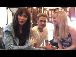 Abbie Cobb & 90210 Cast Members for the ARTS! - YouTube