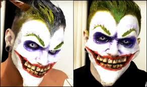 halloween special this joker make up