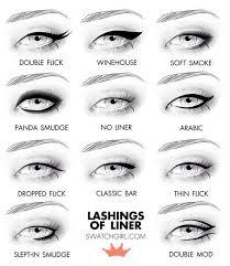 unique eyeliner styles makeup skin