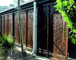 Metal Fence Decor Etsy