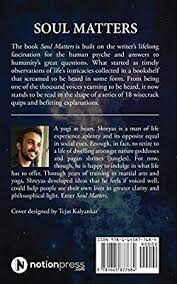 soul matters life experience in a series of quotes shreyas