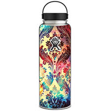 Skin Decal For Hydro Flask 40 Oz Wide Mouth Galaxy Paisley Antique 647358196377 Ebay