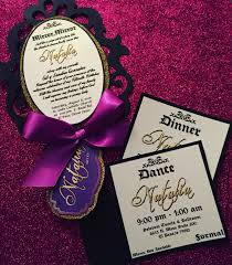 Descendants Xv Them Cinderella Invitations Con Imagenes