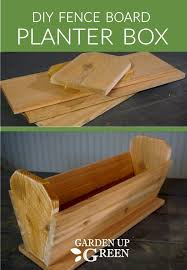 Garden Up Green Startle Garden And Quail Planter Boxes Diy Fence Fence Boards