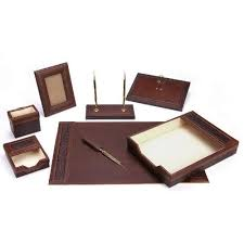 leather desk organizers and accessories