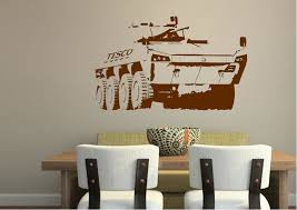 Tesco Army Banksy Wall Stickers Adhesive Wall Sticker