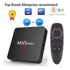 Android tv box iptv subscription MXQ pro RK3229 4k 2G 16G Smart BOX Android  7.1 4K Tv HD 3D 2.4G WiFi h96 max X96 tv android boX - Gadget Company
