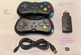 Máy chơi game điện tử 4 nút 638 tay cầm không dây (cổng kết nối HDMI) - Máy  chơi Game khác Thương hiệu OEM