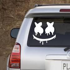 Best Price 4e705b New Arrivals Dripping Marshmello Edm Dj Vinyl Decal Car Laptop Truck Bumper Window Decor Decals Car Stickers L817 Cicig Co