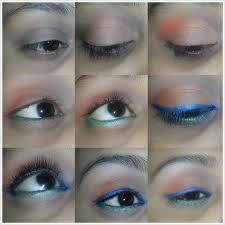 summer blue eye makeup tutorial