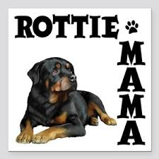 Rottweiler Mom Car Magnets Cafepress