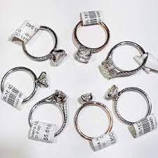 enement rings diamonds
