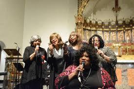 The Chantels Come Home to Bronx Church Where Their Music Began   Catholic  New York