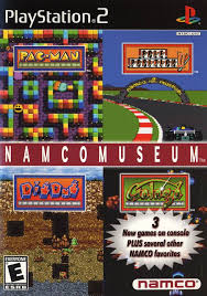 namco museum sony playstation 2 game