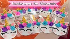 Como Hacer Invitaciones De Unicornio Hacer Invitaciones De Cumpleanos Invitacion De Unicornio Como Hacer Invitaciones