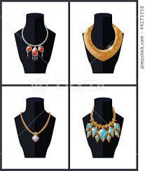 jewelry necklaces precious stones