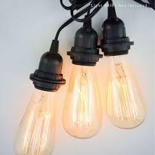 triple socket black pendant light lamp