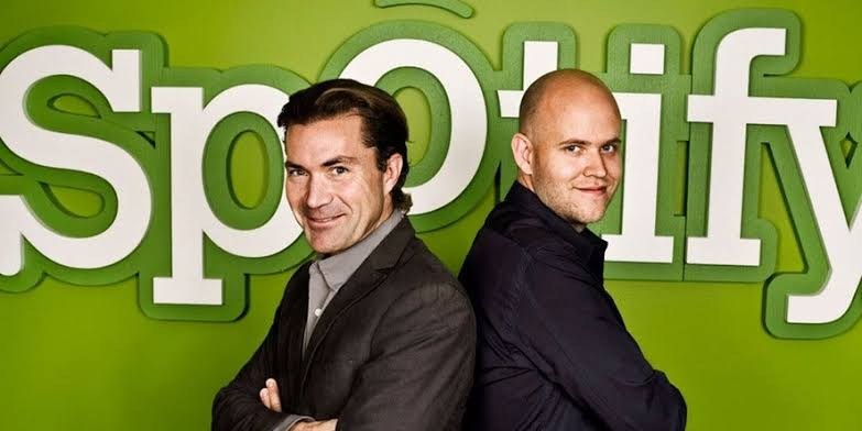 Image result for daniel ek and martin lorentzon""