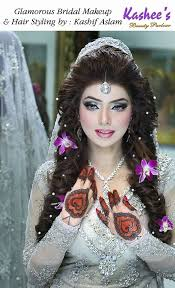 indian bridal makeup with heavy jewelry