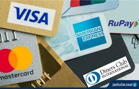 credit card networks in india visa