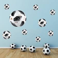 World Cup Ball Wall Stickers Reusable Soccer Ball Sticker Etsy