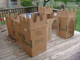 use cardboard boxes for kids